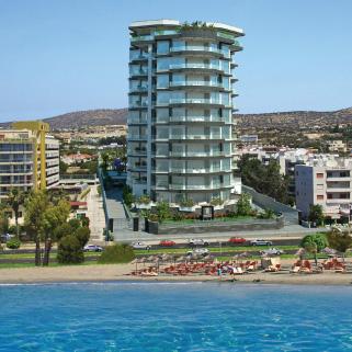 Limassol – Modern hi-rise Apartment Building