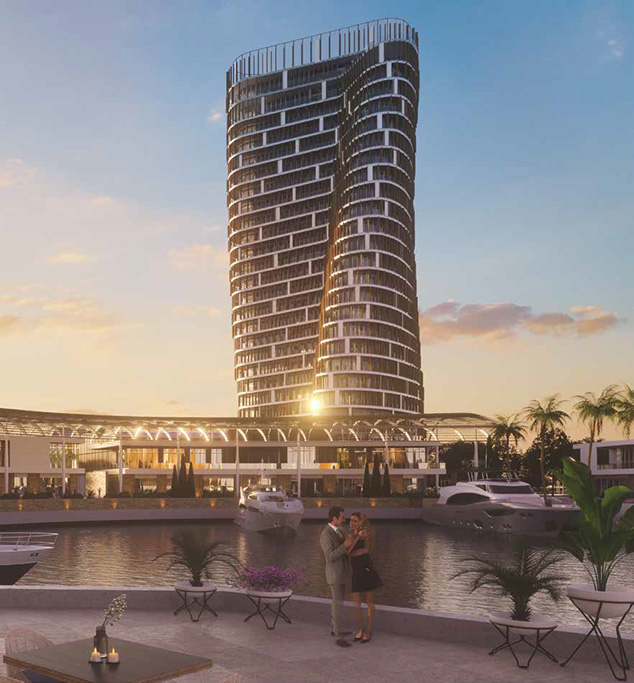 Ayia Napa – Two Beachfront Iconic Towers