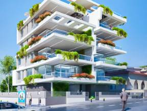 Larnaca – A High-End Project Composed of Two Buildings