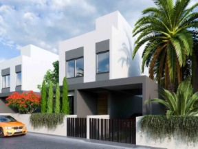 Paphos – Villas Encompass the edge of the Chloraka Foothills